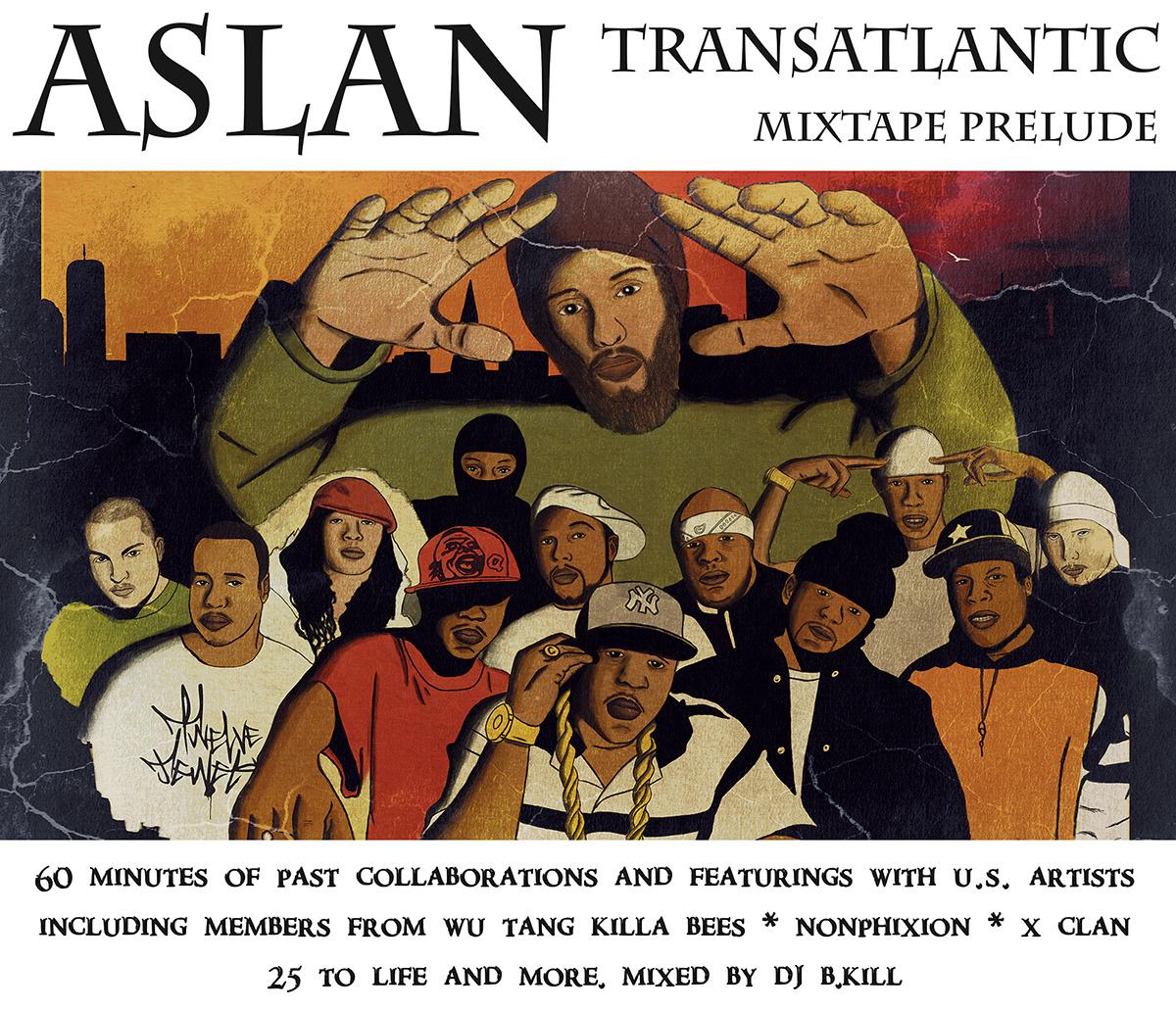 ASLAN : Transatlantic prelude mixtape